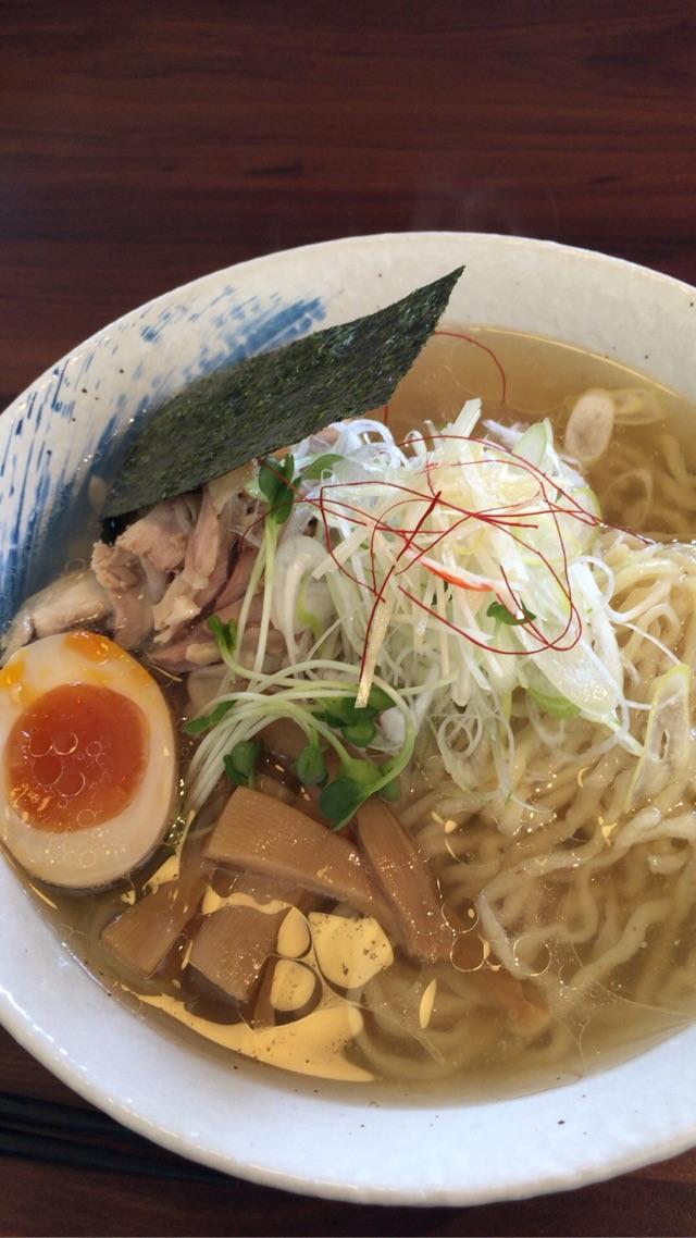 麺や ようか 「鶏しおジンジャー麺」(2015年3月)