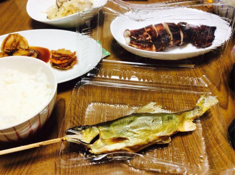 イカ・貝・マグロ!子持ち鮎!角上魚類で買ったもので海鮮パーティだ!