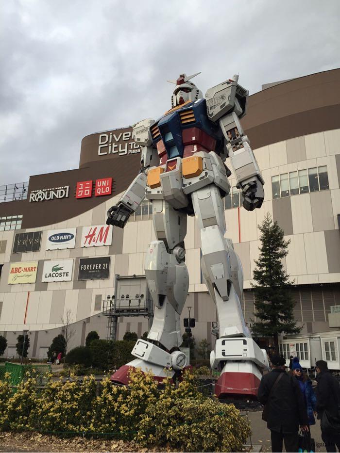 ガンダムフロント東京!