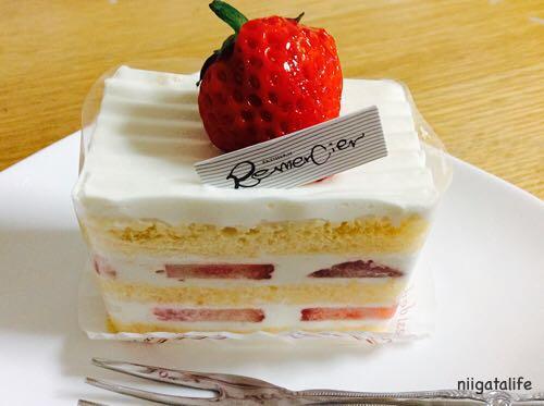 パティスリールメルシー♡小千谷の新しいケーキ屋さん!