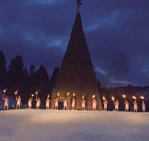古志の火まつり2017「日本一のさいの神」は3月11日(土)に開催!