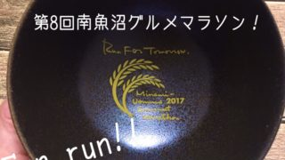 【参加レポ】第8回南魚沼グルメマラソン2017のコースや天気、チャリティーオークションの大物出品者