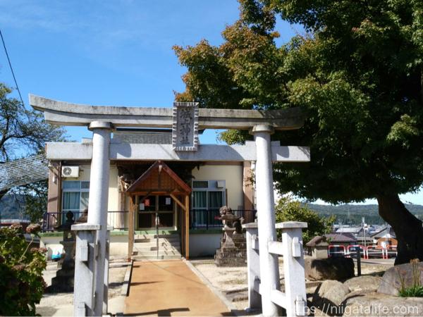 小千谷城上神社