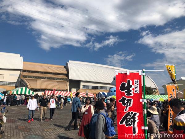 小千谷でうまいもの祭開催!マツコの知らない世界出演予定のスイーツ