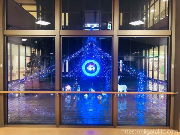 長岡中央綜合病院のイルミネーション!