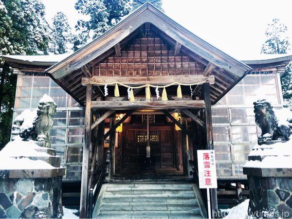 小千谷の初詣!日荒神社・伊米神社の雪景色