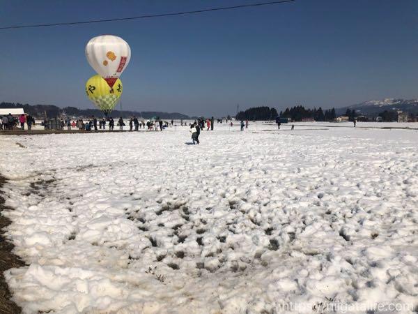 風船一揆2日目ダイジェスト!気球と雪原と小千谷グルメ