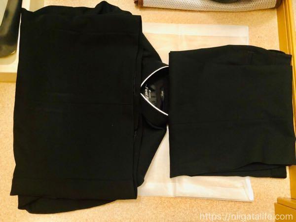 学生服、洗濯してみた!