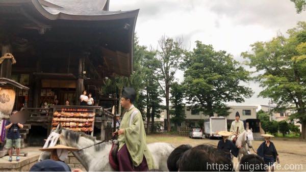 金峯神社「流鏑馬神事」