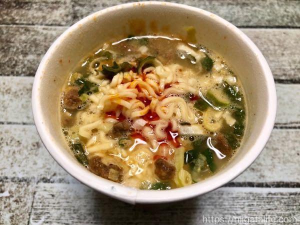 【ベイシア】105円格安カップ麺4種を食べ比べ!