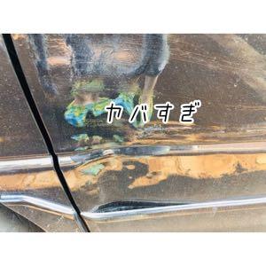 車(エスティマ)のドアぶつけたので自分で交換!修理費用と苦労した所など