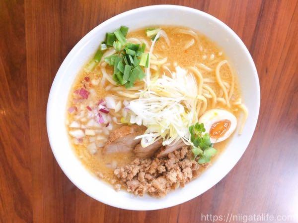 麺やようか日替り限定「酸辣湯麺」