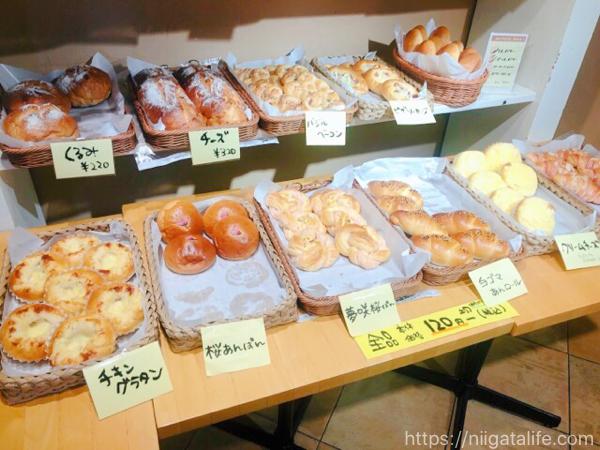 パンもクッキーも桜づくし!刈羽・至福の時間