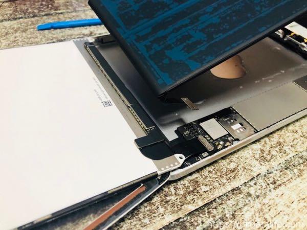iPadminiのバッテリーをセルフ交換