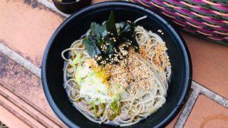 山本山山頂でイチカラ畑のお蕎麦を食べたよ!新しいカフェもオープンしてました!