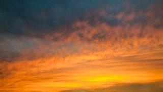 小千谷周辺で見た秋のうろこ雲写真2020