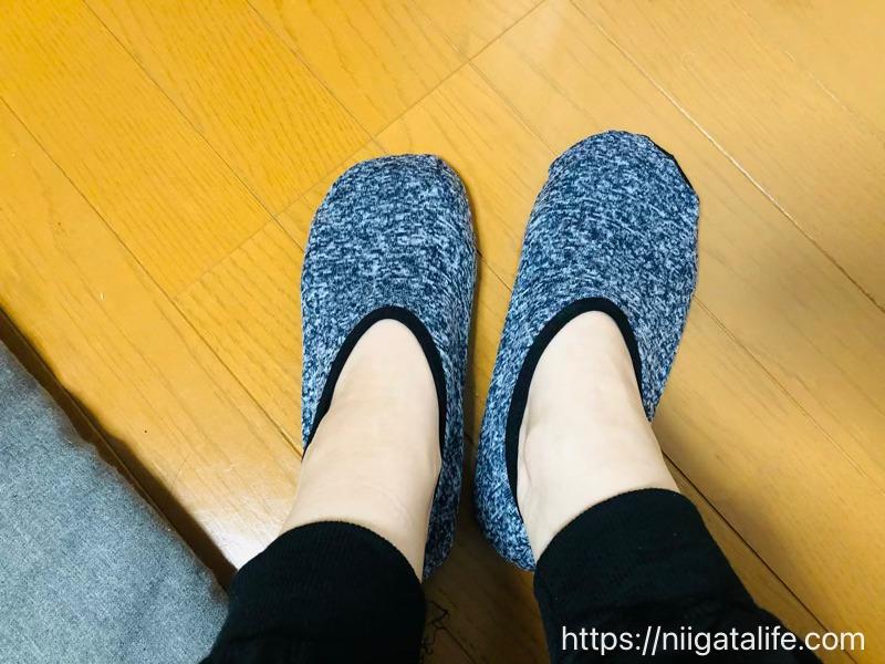 【ワーク女子】指がグイッと開く靴下が気持ちええー!