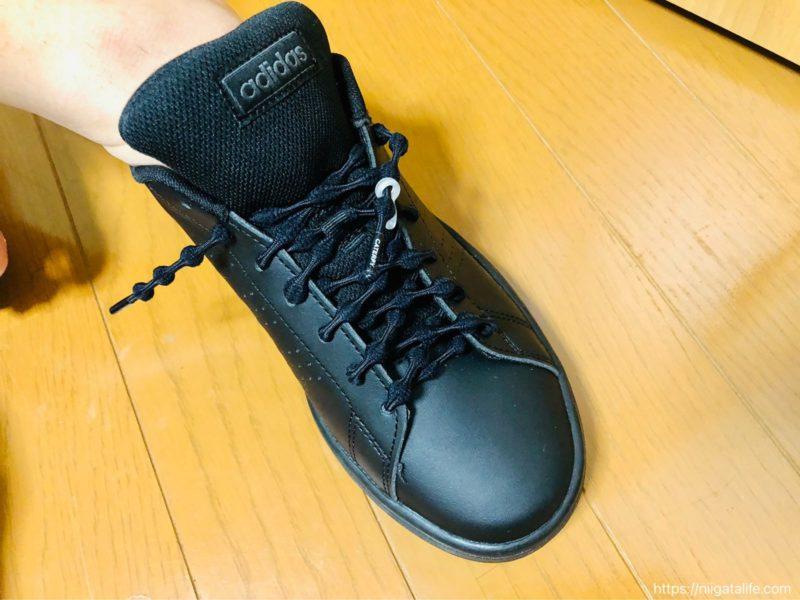 結ばない靴紐「キャタピラン」