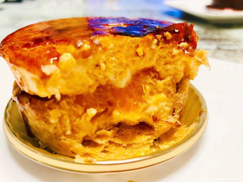 ザクザク食感と酸味が合体!「シブーストオランジェ」でマイバースデーを祝う・小千谷ルメルシー